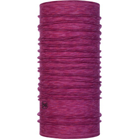 Buff Lightweight Merino Wool Loop Sjaal, raspberry multi stripes